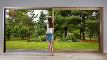. Drzwi HST Sky sprawiają że granica między wnętrzem a otoczenia zanika