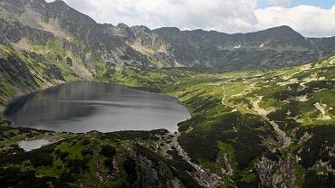 Odwrócony wodospad w Tatrach