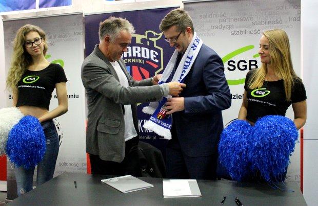 Bank Spółdzielczy sponsorem klubu koszykarskiego