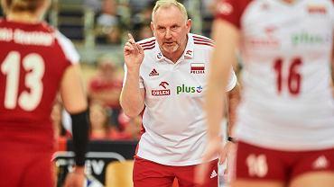 Mistrzostwa Europy siatkarek. Trener Jacek Nawrocki