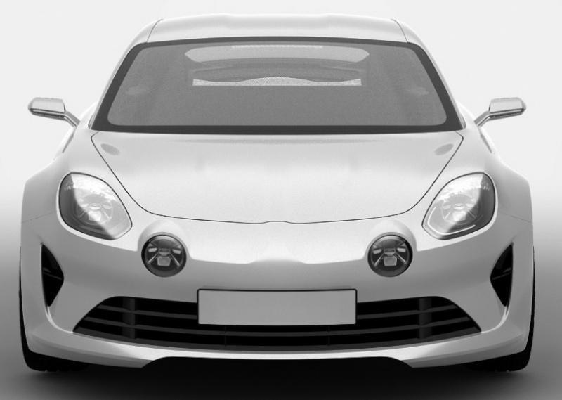 2016 Alpine - szkice patentowe wersji produkcyjnej