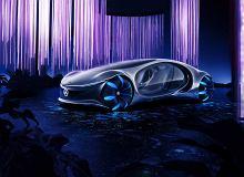 """Mercedes pokazał samochód koncepcyjny inspirowany """"Avatarem"""". """"Łączy człowieka, maszynę i naturę"""""""