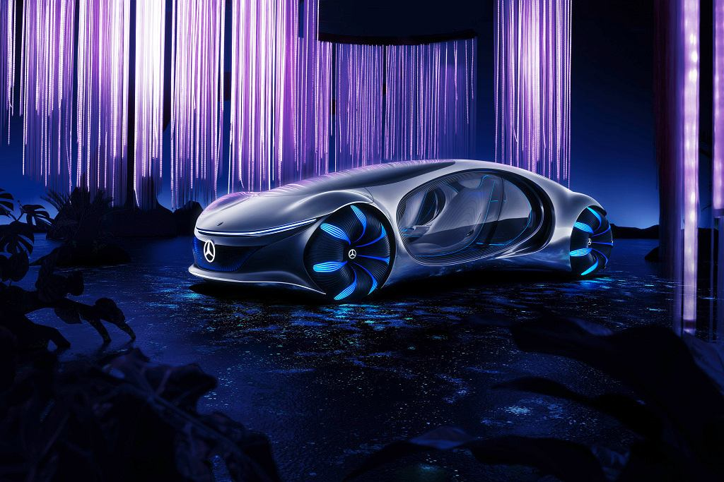 Inspired by the future: The Mercedes-Benz VISION AVTR