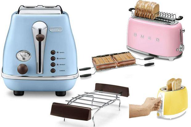 Kolorowy toster - radosny akcent w Twojej kuchni [WYBÓR REDAKCJI, CENY]