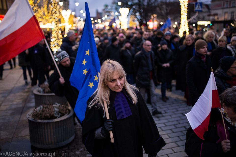 Marsz Tysica Tg w Warszawie