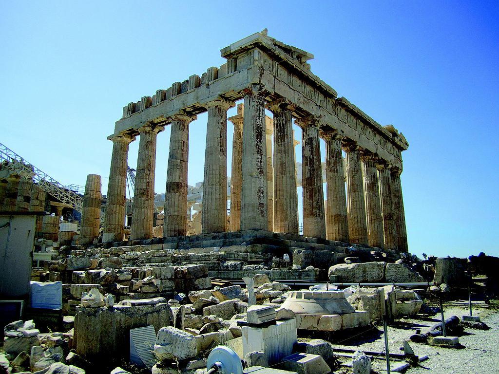 Parteneon, Grecja, Akropol