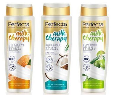 PERFECTA MILK THERAPY mleczka do ciała i pod prysznic