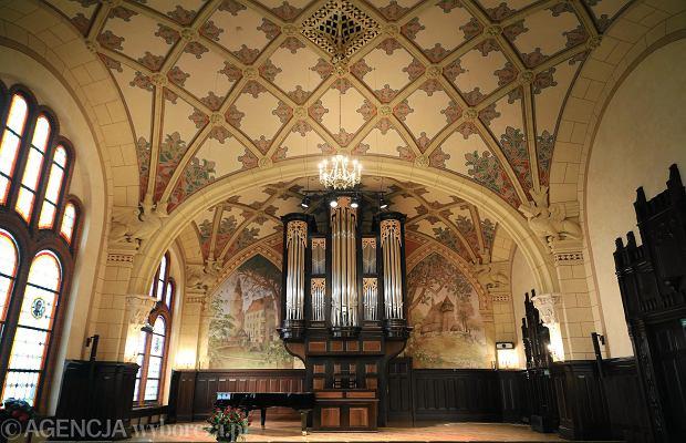 Aula Akademii Muzycznej w Katowicach