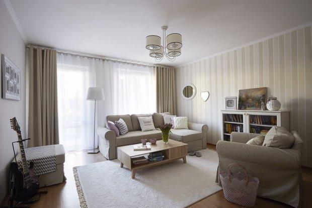 Metamorfoza mieszkania młodej rodziny