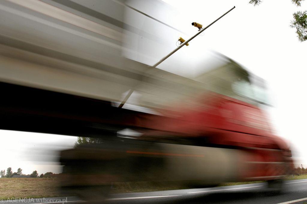 Odcinkowy pomiar prędkości