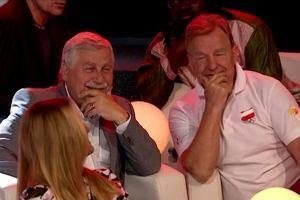 Andrzej Supron i Jan Englert w TVP1