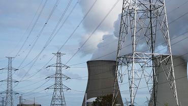 Ceny energii w Europie mocno wzrosły. Na zdjęciu elektrownia jądrowa w Belgii.