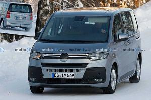 Volkswagen Multivan T7 przyłapany na północy. Nowy model zadebiutuje w 2021 roku