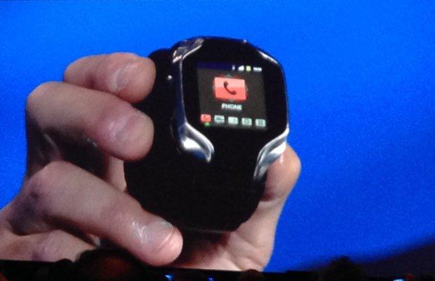 Prototyp inteligentnego zegarka Intela
