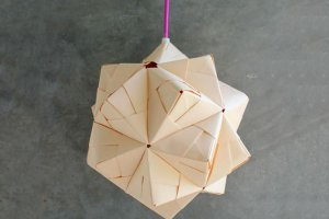 Zrób to sam: lampa z papieru