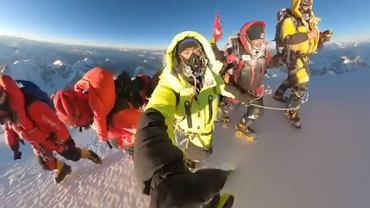 Tak Nepalczycy weszli na szczyt K2