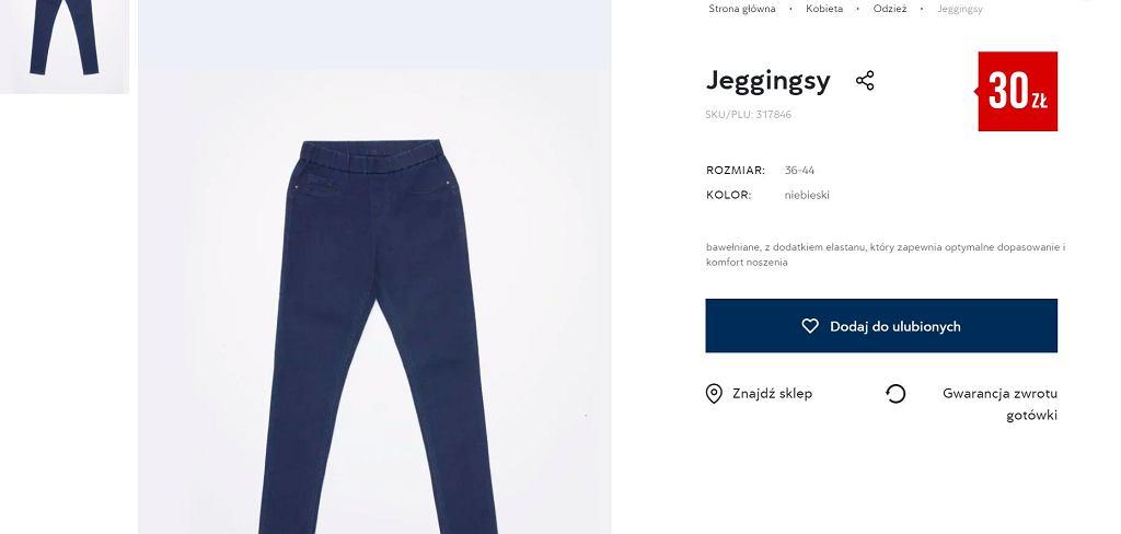 Pepco sprzedaje hitowe spodnie typu jeggings za 30 zł. Taki krój optycznie wyszczupla. Kobiety je uwielbiają!