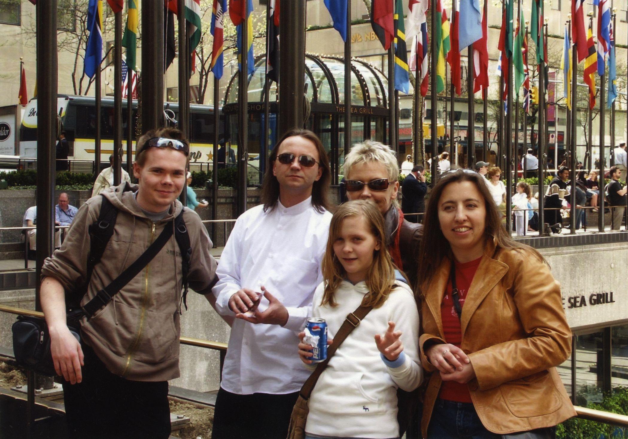 Wyjazd z ekipą muzyczno- fundacyjną, Nowy Jork (fot. archwium prywatne Ewy Błaszczyk)