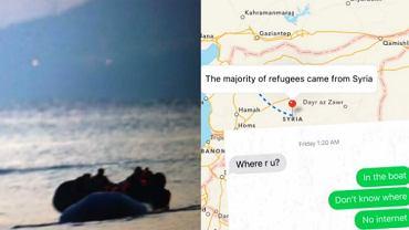 Poczuj się jak uchodźca.