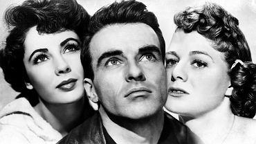 Elizabeth Taylor, Montgomery Clift, Shelley Winters, 1951 r.