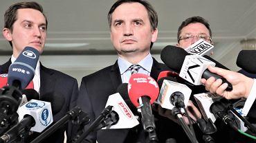 Zbigniew Ziobro. Minister sprawiedliwości