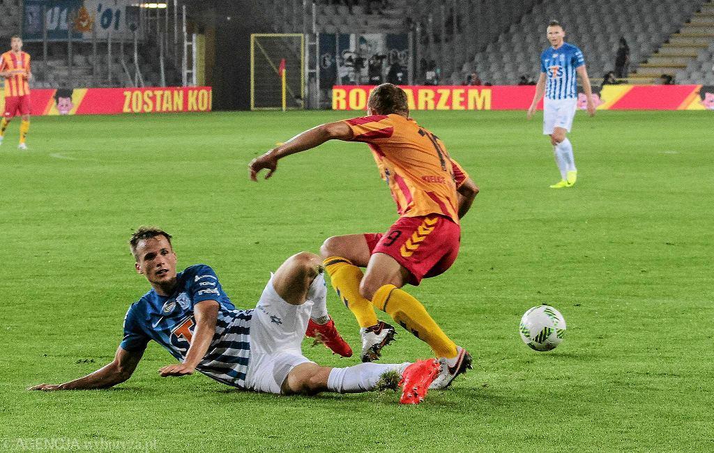 Korona Kielce - Lech Poznań 4:1. Tomasz Kędziora i Ken Kallaste
