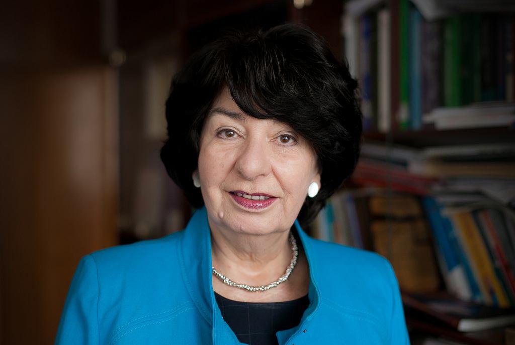 Prof. Małgorzata Kozłowska-Wojciechowska (fot. archiwum prywatne)