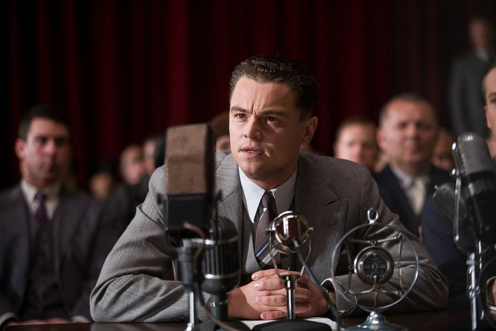 Leonardo DiCaprio jako J. Edgar Hoover