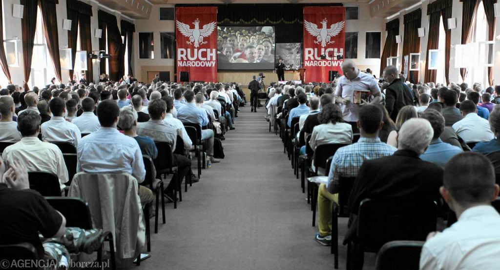 Kongres narodowców w Warszawie