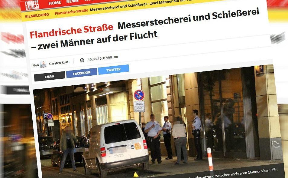 Niemiecki dziennik o incydencie w Kolonii