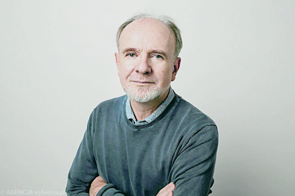 Pisarz Marek Bieńczyk / Fot. Agata Grzybowska / Agencja Gazeta