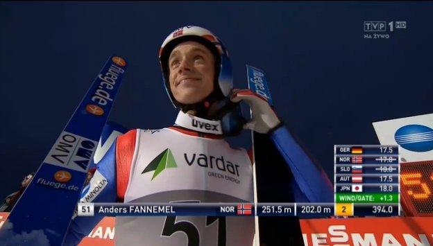 Anders Fannemel Vikersund 251,5m