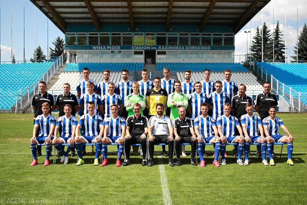 Wisła Płock - sezon 2015/2016. Skład drużyny - na dole tekstu