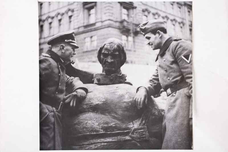 Koniec Pomnika Grunwaldzkiego