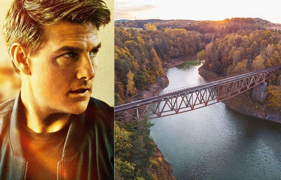 Zdjęcie numer 1 w galerii - Tom Cruise jednak wysadzi zabytkowy most na Dolnym Śląsku? Filmowcy i wojsko wspólnie go przeglądali
