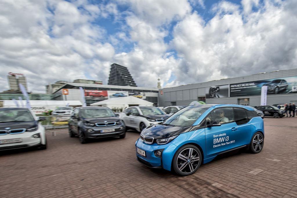 Jazdy testowe BMW i3 podczas targów Poznań Motor Show 2017