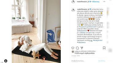 Kasia Tusk ubiera siebie tak jak dziecko