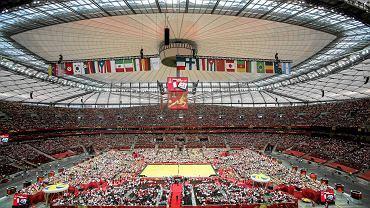 Ceremonia otwarcia MŚ siatkarzy na Stadionie Narodowym