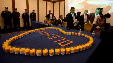 Spotkanie władz Malezji z rodzinami pasażerów zaginionego samolotu