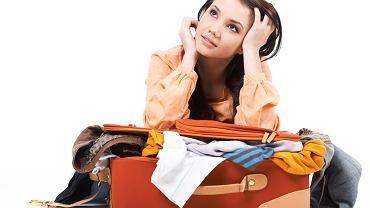 wakacje, pakowanie, wyjazd, walizka