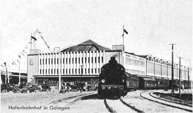 Zdjęcie numer 2 w galerii - Dworzec Morski w Gdyni skończył 85 lat. Zobacz, jak się zmieniał [ARCHIWALNE ZDJĘCIA]