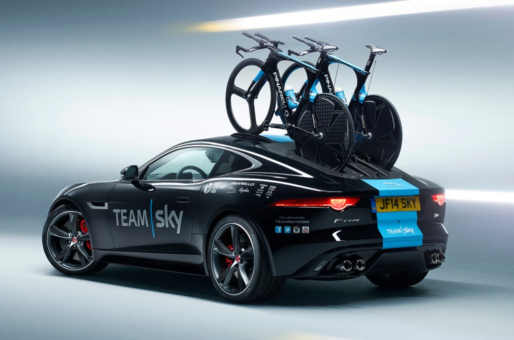 Jaguar F-Type R Tour de France