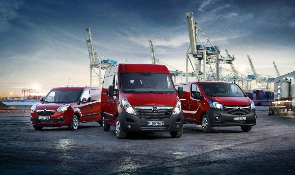 Opel zapowiada nowości na rok 2016 w modelach Vivaro, Movano oraz Combo
