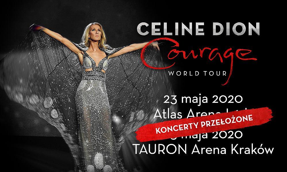Koncerty Céline Dion zostały przełożone