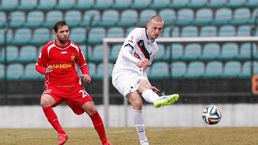 Tomasz Porębski (z prawej) już nie zagra dla GKS Tychy