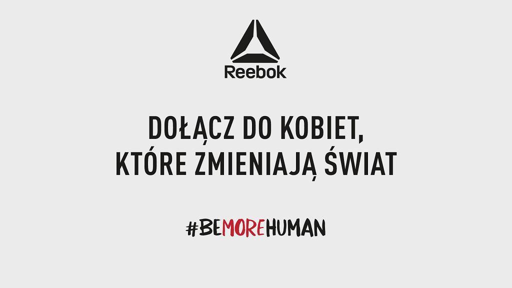 Reebok Be More Human.