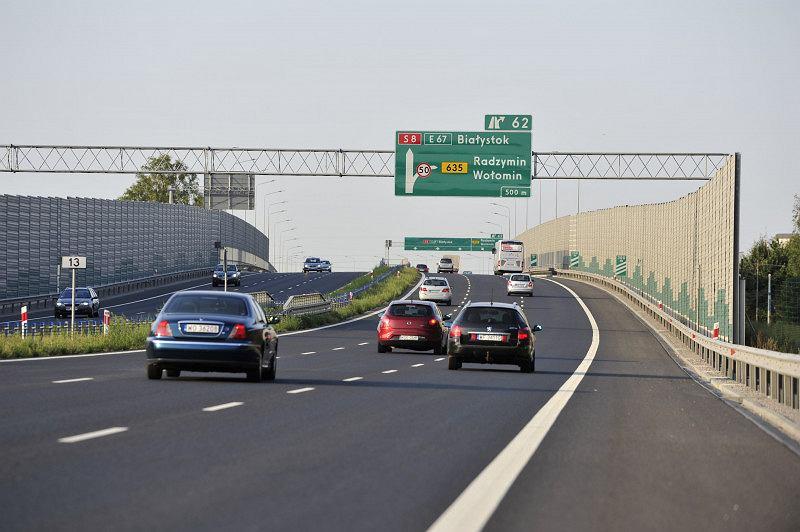 Droga ekspresowa S8, obwodnica Marek