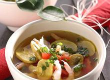 Zupa z krewetek i trawy cytrynowej - ugotuj