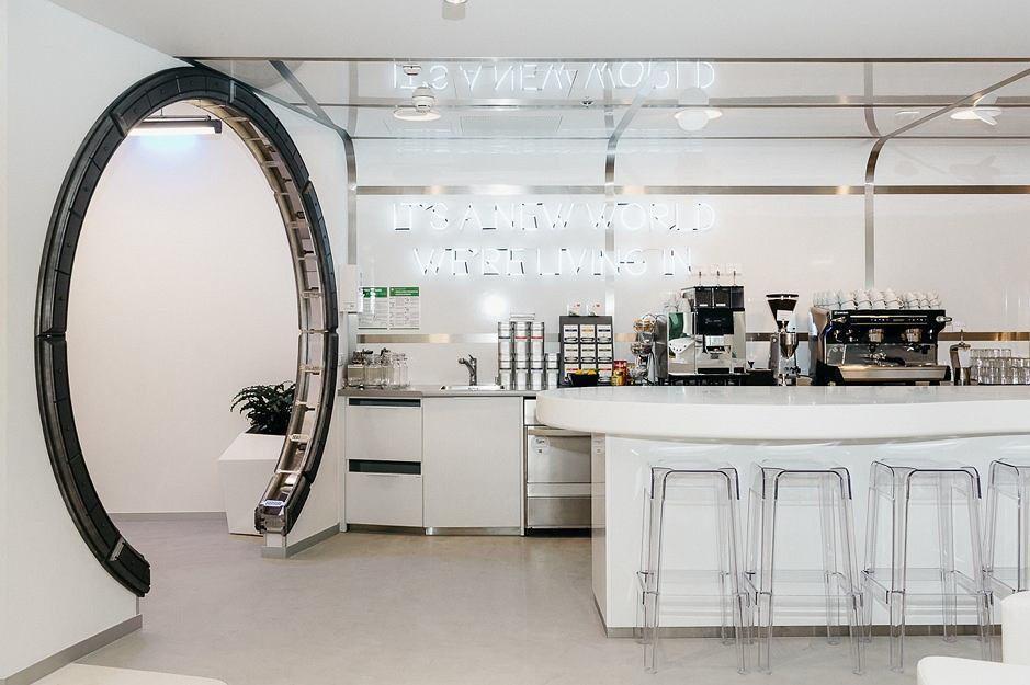 Kuchnia w warszawskim biurze Google