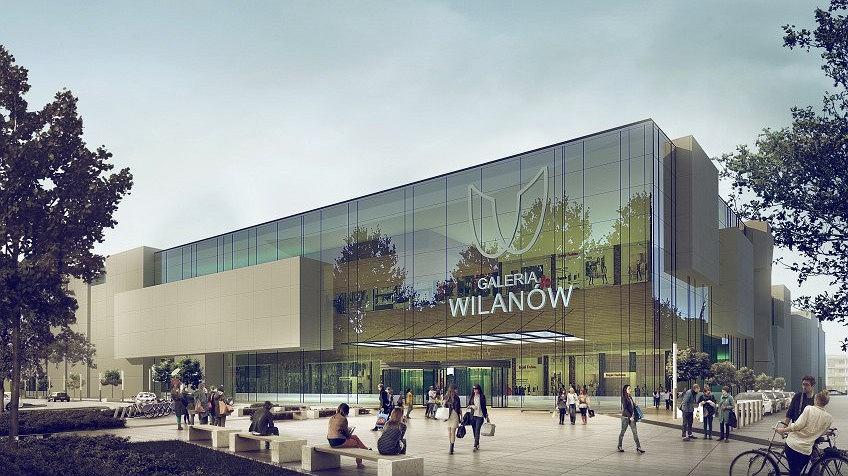 Inwestycje w Warszawie. Tak miała wyglądać Galeria Wilanów